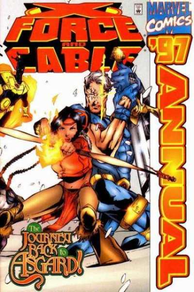 X-Force #1997 comic books for sale