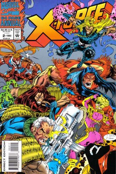 X-Force #2 comic books - cover scans photos X-Force #2 comic books - covers, picture gallery