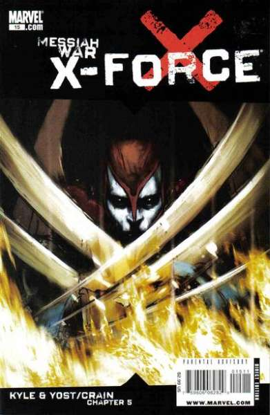 X-Force #15 comic books for sale
