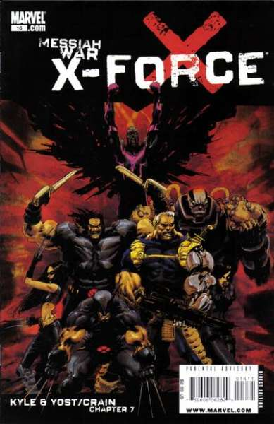 X-Force #16 comic books - cover scans photos X-Force #16 comic books - covers, picture gallery
