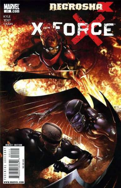 X-Force #21 Comic Books - Covers, Scans, Photos  in X-Force Comic Books - Covers, Scans, Gallery
