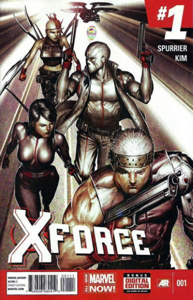 X-Force comic books