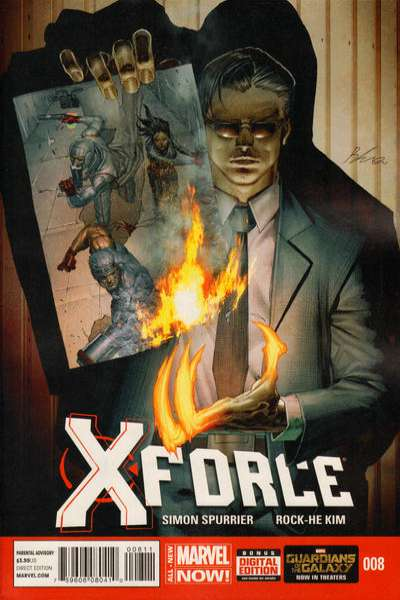 X-Force #8 comic books for sale
