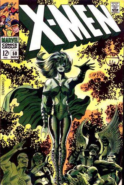 X-Men #50 comic books for sale