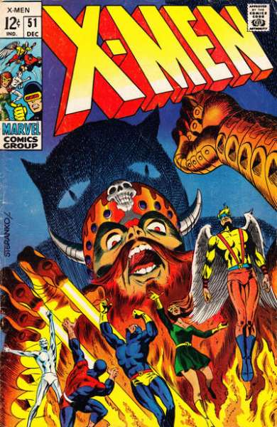 X-Men #51 comic books for sale