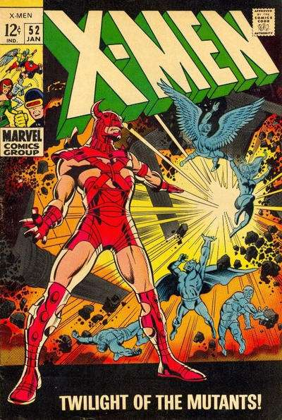 X-Men #52 cheap bargain discounted comic books X-Men #52 comic books