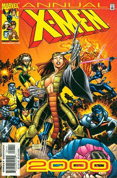 X-Men #2000 comic books for sale