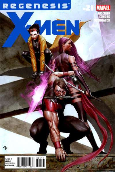 X-Men #21 Comic Books - Covers, Scans, Photos  in X-Men Comic Books - Covers, Scans, Gallery