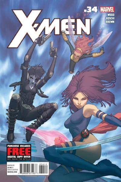 X-Men #34 comic books for sale