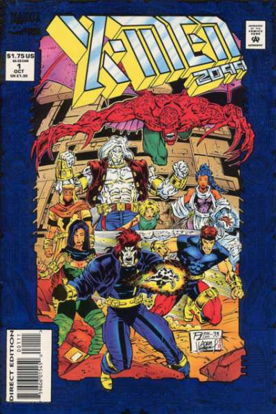 X-Men 2099 #1 Comic Books - Covers, Scans, Photos  in X-Men 2099 Comic Books - Covers, Scans, Gallery