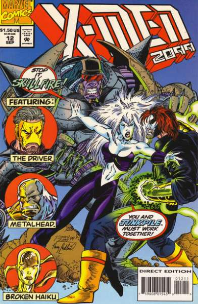 X-Men 2099 #12 Comic Books - Covers, Scans, Photos  in X-Men 2099 Comic Books - Covers, Scans, Gallery