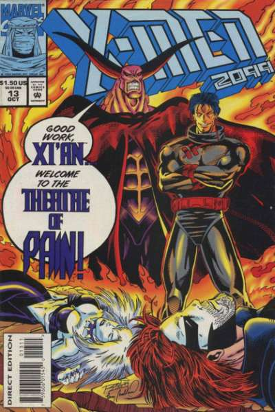 X-Men 2099 #13 Comic Books - Covers, Scans, Photos  in X-Men 2099 Comic Books - Covers, Scans, Gallery