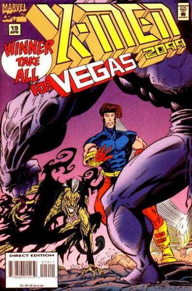 X-Men 2099 #19 comic books for sale