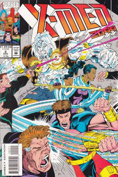 X-Men 2099 #2 Comic Books - Covers, Scans, Photos  in X-Men 2099 Comic Books - Covers, Scans, Gallery