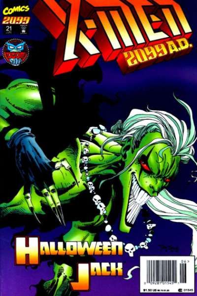 X-Men 2099 #21 comic books for sale