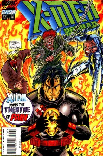 X-Men 2099 #22 Comic Books - Covers, Scans, Photos  in X-Men 2099 Comic Books - Covers, Scans, Gallery