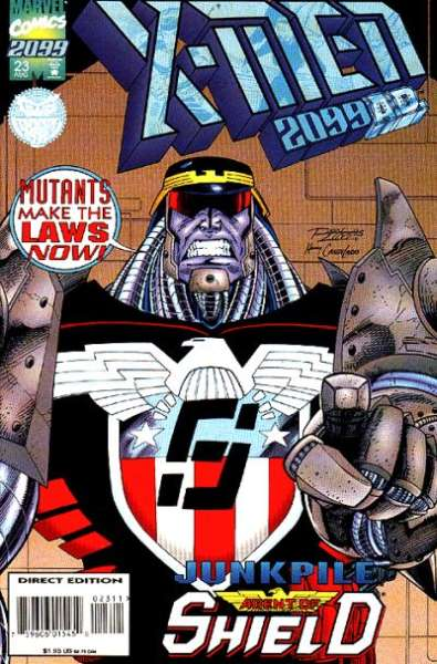 X-Men 2099 #23 Comic Books - Covers, Scans, Photos  in X-Men 2099 Comic Books - Covers, Scans, Gallery