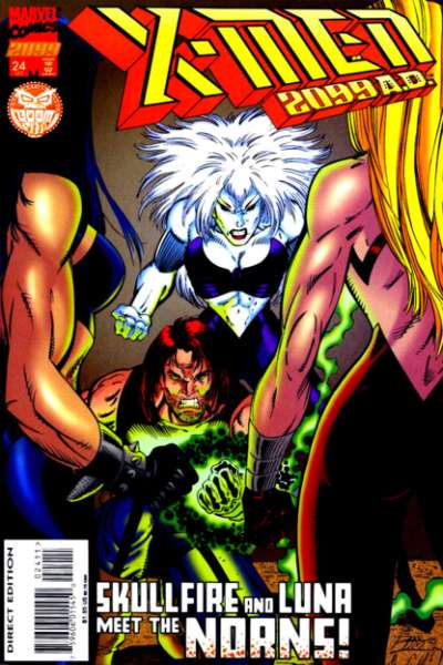 X-Men 2099 #24 Comic Books - Covers, Scans, Photos  in X-Men 2099 Comic Books - Covers, Scans, Gallery