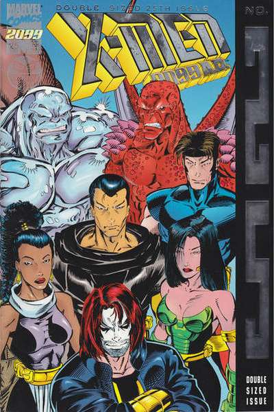 X-Men 2099 #25 comic books for sale