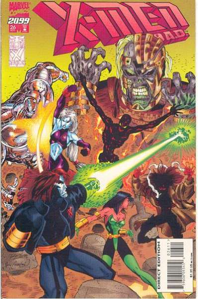 X-Men 2099 #26 comic books for sale