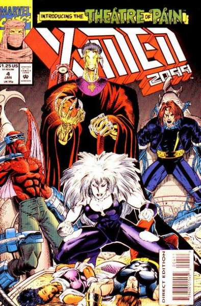 X-Men 2099 #4 Comic Books - Covers, Scans, Photos  in X-Men 2099 Comic Books - Covers, Scans, Gallery