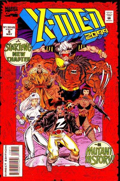 X-Men 2099 #8 Comic Books - Covers, Scans, Photos  in X-Men 2099 Comic Books - Covers, Scans, Gallery