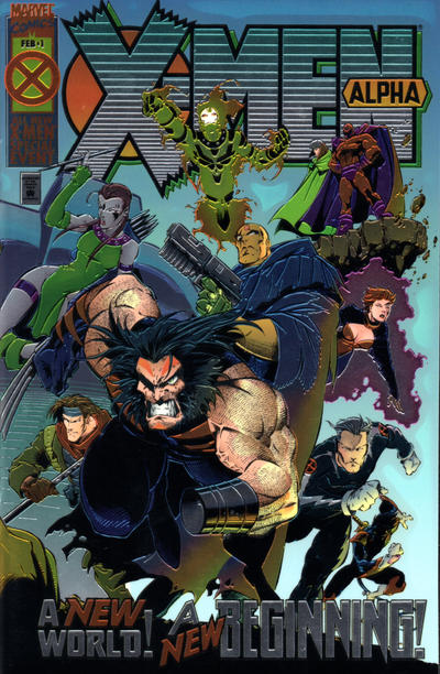 X-Men Alpha #1 comic books - cover scans photos X-Men Alpha #1 comic books - covers, picture gallery