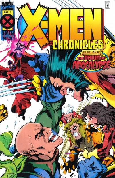 X-Men Chronicles Comic Books. X-Men Chronicles Comics.