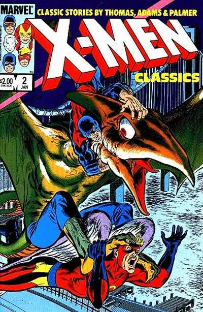 X-Men Classics #2 comic books - cover scans photos X-Men Classics #2 comic books - covers, picture gallery