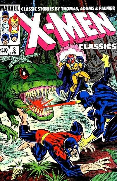 X-Men Classics #3 comic books - cover scans photos X-Men Classics #3 comic books - covers, picture gallery