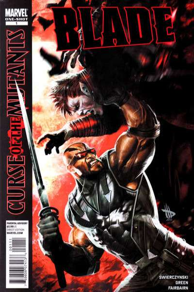 X-Men: Curse of the Mutants - Blade comic books