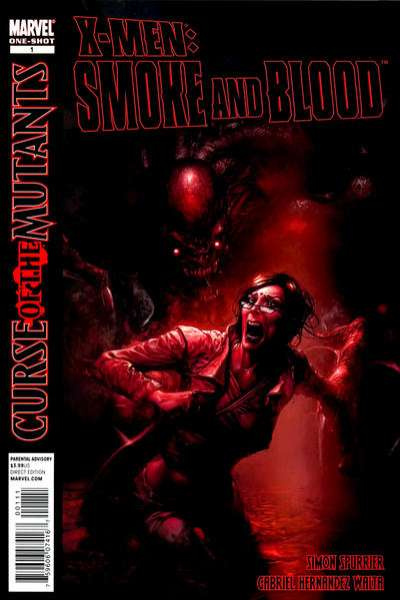 X-Men: Curse of the Mutants - Smoke and Blood #1 comic books - cover scans photos X-Men: Curse of the Mutants - Smoke and Blood #1 comic books - covers, picture gallery