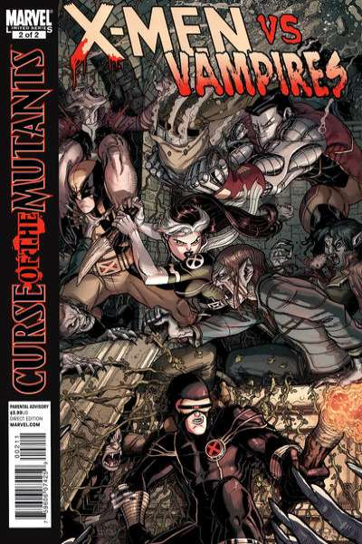 X-Men: Curse of the Mutants - X-Men vs. Vampires #2 Comic Books - Covers, Scans, Photos  in X-Men: Curse of the Mutants - X-Men vs. Vampires Comic Books - Covers, Scans, Gallery