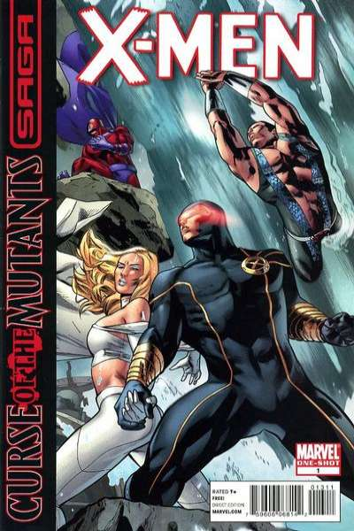 X-Men: Curse of the Mutants Saga #1 comic books - cover scans photos X-Men: Curse of the Mutants Saga #1 comic books - covers, picture gallery