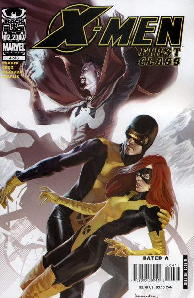 X-Men: First Class #4 Comic Books - Covers, Scans, Photos  in X-Men: First Class Comic Books - Covers, Scans, Gallery