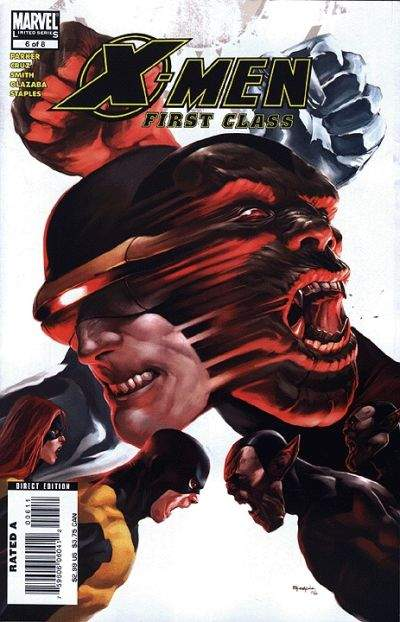 X-Men: First Class #6 Comic Books - Covers, Scans, Photos  in X-Men: First Class Comic Books - Covers, Scans, Gallery