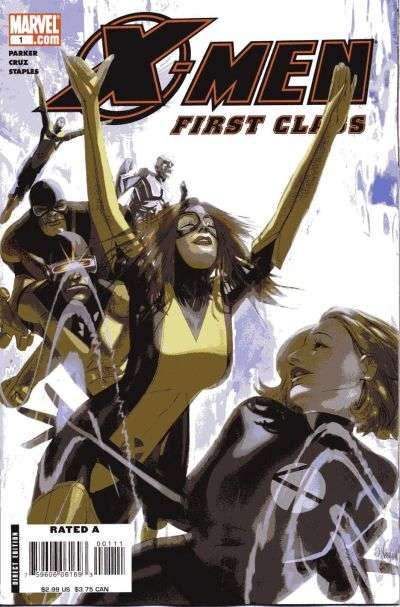 X-Men: First Class Comic Books. X-Men: First Class Comics.