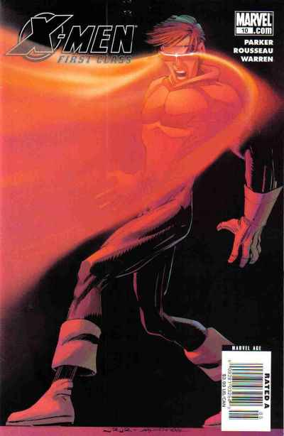 X-Men: First Class #10 comic books - cover scans photos X-Men: First Class #10 comic books - covers, picture gallery
