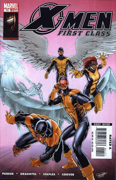 X-Men: First Class #11 comic books - cover scans photos X-Men: First Class #11 comic books - covers, picture gallery