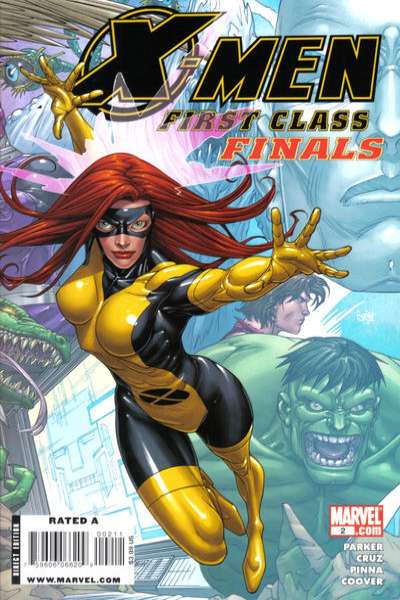 X-Men: First Class Finals #2 Comic Books - Covers, Scans, Photos  in X-Men: First Class Finals Comic Books - Covers, Scans, Gallery