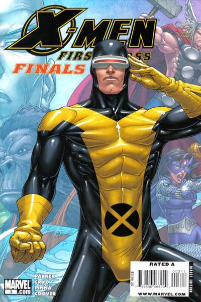 X-Men: First Class Finals #3 Comic Books - Covers, Scans, Photos  in X-Men: First Class Finals Comic Books - Covers, Scans, Gallery