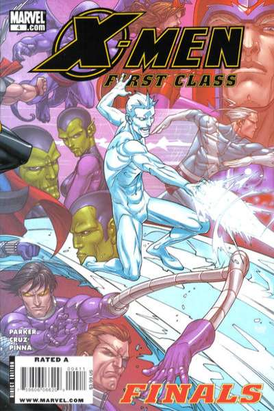 X-Men: First Class Finals #4 comic books - cover scans photos X-Men: First Class Finals #4 comic books - covers, picture gallery