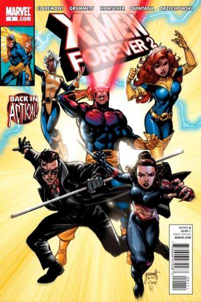 X-Men Forever 2 #1 comic books - cover scans photos X-Men Forever 2 #1 comic books - covers, picture gallery