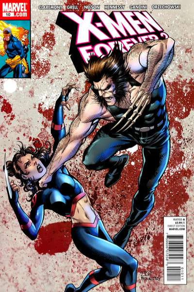 X-Men Forever 2 #10 comic books - cover scans photos X-Men Forever 2 #10 comic books - covers, picture gallery