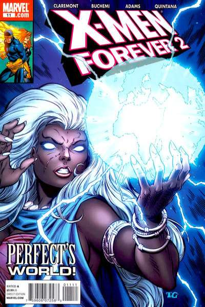 X-Men Forever 2 #11 comic books - cover scans photos X-Men Forever 2 #11 comic books - covers, picture gallery