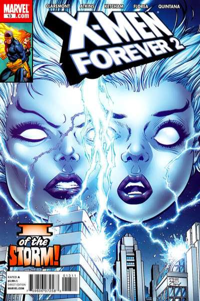 X-Men Forever 2 #13 comic books - cover scans photos X-Men Forever 2 #13 comic books - covers, picture gallery