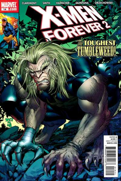 X-Men Forever 2 #14 comic books - cover scans photos X-Men Forever 2 #14 comic books - covers, picture gallery