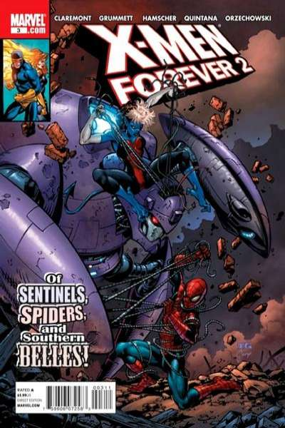 X-Men Forever 2 #3 Comic Books - Covers, Scans, Photos  in X-Men Forever 2 Comic Books - Covers, Scans, Gallery