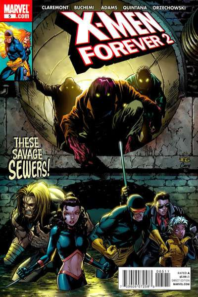 X-Men Forever 2 #5 comic books - cover scans photos X-Men Forever 2 #5 comic books - covers, picture gallery
