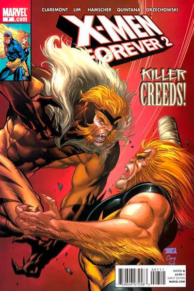 X-Men Forever 2 #7 comic books - cover scans photos X-Men Forever 2 #7 comic books - covers, picture gallery